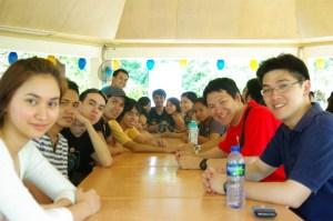 Lunch at Kabayan Beach Resort